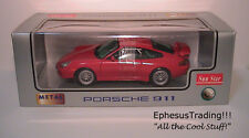 Sun Star Porsche 911 996 GT3 Strasse Cup Carrera Coupe Red w/Black 1206 1/18 NEW