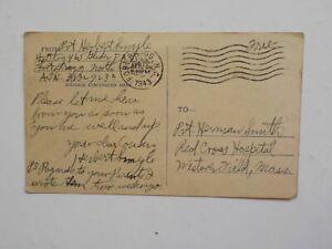 WWII Letter 1943 465th Glider Field Artillery Battalion Postcard WW II WW11 WW2