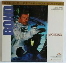 "JAMES BOND MOONRAKER ROGER MOORE 2X12"" Laserdisc"