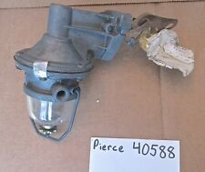 New Vintage Pierce Fuel Pump #40588 1938-1953 Plymouth, Dodge, Chrysler, DeSoto