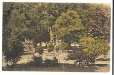 View in City Park, Appleton Wisconsin Stars & Stripes PMK 1910 & Leeds 8 PMK