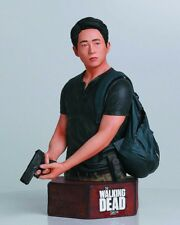 WALKING DEAD LIMITED EDITION GLENN RHEE STATUE BUST FIGURE GENTLE GIANT box wear