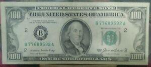 1985 $ 100 FRN B 77689592 A.