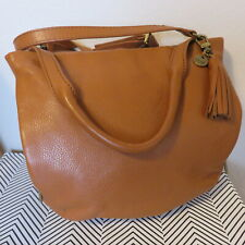 The Sak Collective M Single Handle Hobo Ligh Brown Leather Women's Handbags