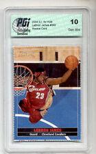 2004 LeBron James SI for Kids Rookie Card PGI 10 CAVS!!