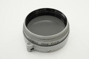 [Optics Mint] Leica A36 Polarizer Filter for Elmar 3.5cm & 5cm New York #B036