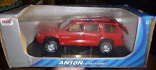 Dodge Durango Anson RED DIECAST 1/18
