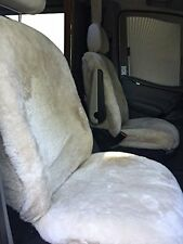 Motor Home Sprinter Seat Covers Sheepskins Australian pelt, class B or C RV!