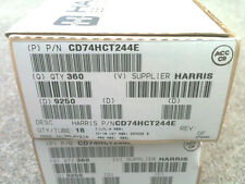 18X CD74HCT244E Harris Factory Sealed Tube PDIP20 74HCT244E New 18ea