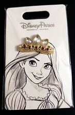 New Disney Crown Tiara Pin Rapunzel Tangled OE