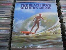 THE BEACH BOYS 20 GOLDEN GREATS SPANISH ONLY 2 X LP GATEFOLD RAINBOW LABEL