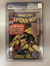 Amazing Spider-Man 11 CGC 7.0 2nd Doctor Octopus