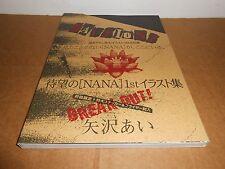 NANA 1st Illustrations Manga Anime Art Book by Ai Yazawa in JAPANESE