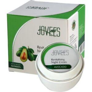 New Jovees Avocado Revitalising Night Cream 50g  Free Shipping