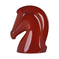 Hermes Samarcande Horsehead Paperweight Terracotta Lacquer New