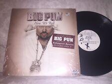BIG PUN - HOW WE ROLL - VINTAGE 2001 LOUD RECORDS HIP-HOP LP