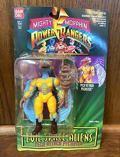 Peckster Vintage Power Rangers Evil Space Aliens Action Figure New 1994 Villain
