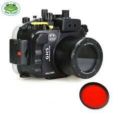 Seafrogs 40m/130ft Underwater Camera Housing Diving Case for Panasonic GH5 GH5S