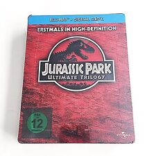 Jurassic Park Ultimate Trilogy Blu-ray Steelbook [Germany] Media Markt Exclusive