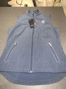 New Ariat Team Softshell Vest Size M/M