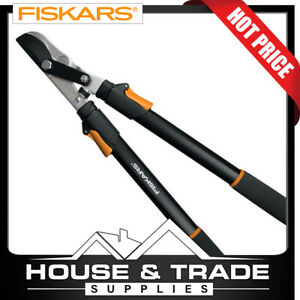 """Fiskars Lopper Shears Extendable Power Lever 25""""-37"""" 9168"""