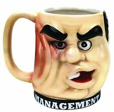 Management Punchout Mug Novelty Gag/Office Gift
