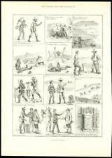 1888-Antiguo imprimir un día con un anticuario experto de antigüedades (310)