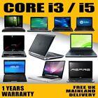 Fast Cheap Intel Core I3/i5/i7 Laptop 500gb Sata Hd 4gb/8gb Ram Wi-fi Windows 10