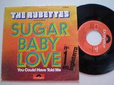 THE RUBBETES Sugar Baby Love SPAIN 45 1974