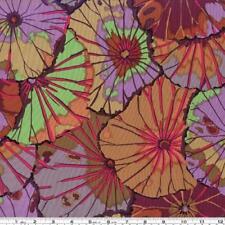 Fat Quarter Café pouvoir Lotus Leaf-Umber-Rowan Cotton Quilting Fabrics