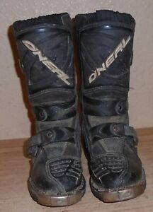 ONeal O'neal Motocross Boots Youth Size 12  EU 30