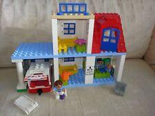 Doctor's Clinic hospital LEGO DUPLO SET light/sound ambulance (NOT COMPLETE SET)