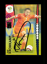 Jan Kromkamp Holland Panini Card WM 2006 Original Signiert+ A 158175