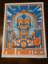 Foo Fighters Poster - Jones Beach 7/14 Msg 7/16,17 Nyc 2018 Ap Variant S/N xx/60