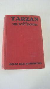 Tarzan & The Lost Empire Edgar Rice Burroughs Grosset Dunlap 1929 hard cover