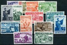 LUXEMBURG 1935 266-280 ungebrauchter SATZ NEUGUMMI (C3449