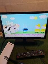 blaupunkt 18.5in led tv model 185/2071-gb-3b-hkups with remote and manual
