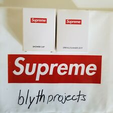 Supreme Shower Cap - SS19 Free Gift - White - Deadstock