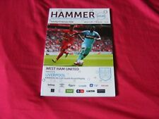 West Ham United V Liverpool F.A. CUP 4TH RD REPLAY FEB.9TH 2015
