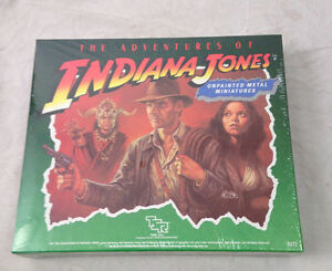 SEALED 1984 TSR  SET INDIANA JONES
