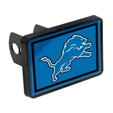 DETROIT LIONS UNIVERSAL RECTANGLE HITCH COVER CAP NEW WINCRAFT 🏈 🚗