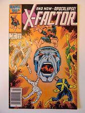 X-FACTOR # 6 // 1st Full APOCALYPSE // Newstand Variant // VF+