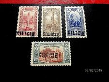 Cilicia 2-5 cpl ovpts, vf MNH, cat 52.50*