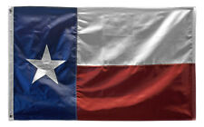 10x15 Foot Embroidered Sewn State of Texas Nylon Flag 10'x15' Grommets Large