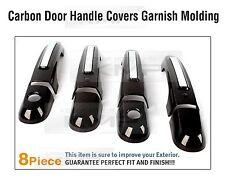 Carbon Door Catch Handle Covers Garnish Molding Trim for KIA 2010 - 2014 Sorento