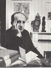 PORTRAIT DE PAUL ELUARD  D'APRES UNE PHOTOGRAPHIE