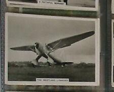 #38 Westland Lysander  - 1930s flying cigarette card