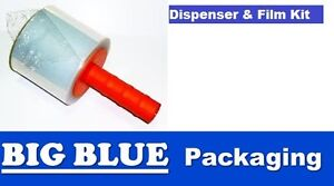 BUNDLING FILM with HAND HELD DISPENSER for packaging Film Stretch Wrap shipping