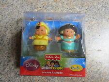 Fisher Price Little People Disney Princess Jasmine Aladdin htf New Box Prince