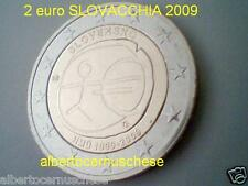 2 euro 2009 SLOVACCHIA 10 anni EMU UEM Slovaquie Slovensko Slowakei Словакия